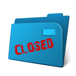 Closed Folder Tenders Icon