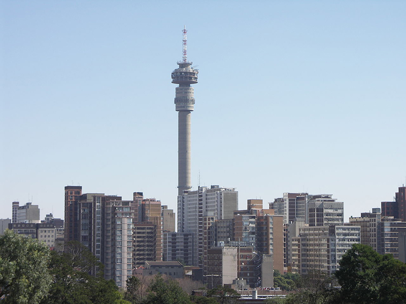 Skyline image of Johannesburg City