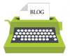Blog Typewriter Icon